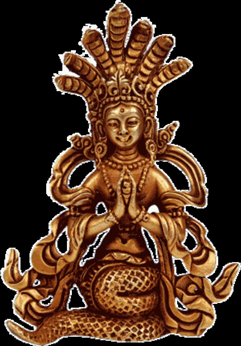 Illustration: Virochana, a demon king from Indian mythology
