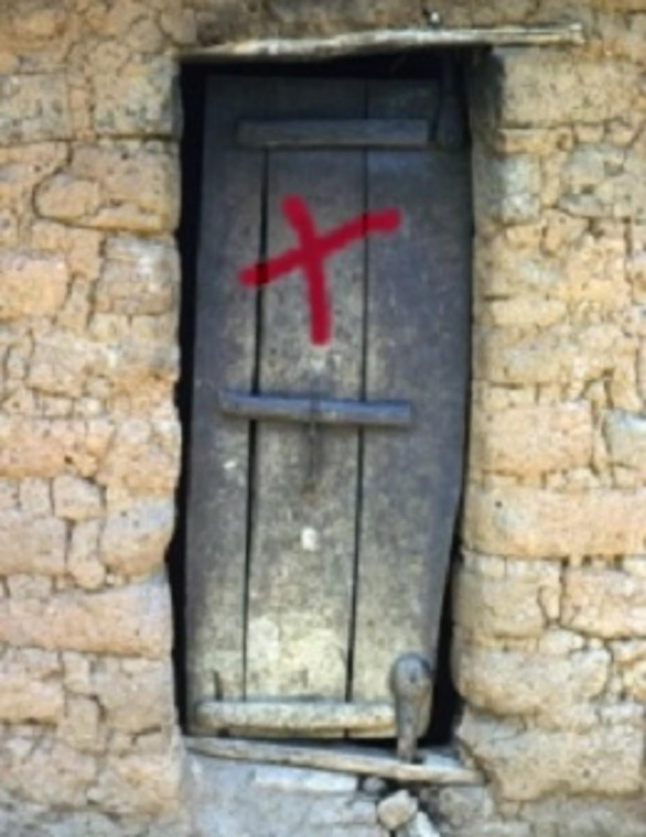 Victim's doors were marked.