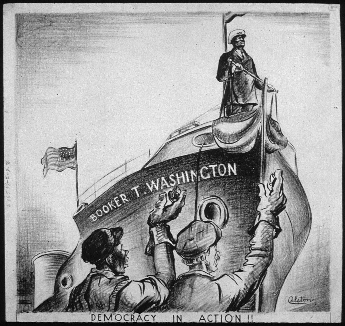 """""""Democracy In Action"""" by Charles Henry Alston"""