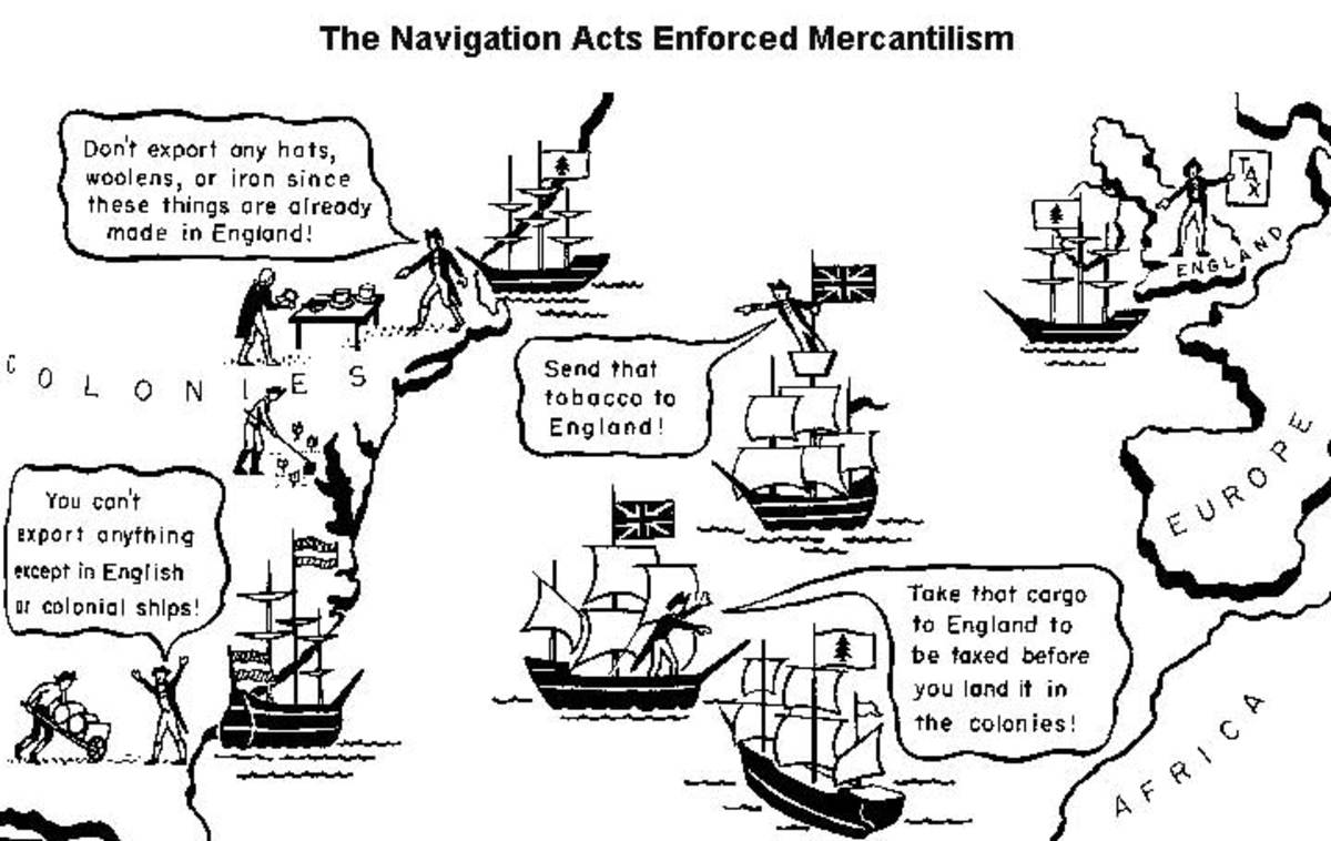 What Were The Navigation Acts Owlcation
