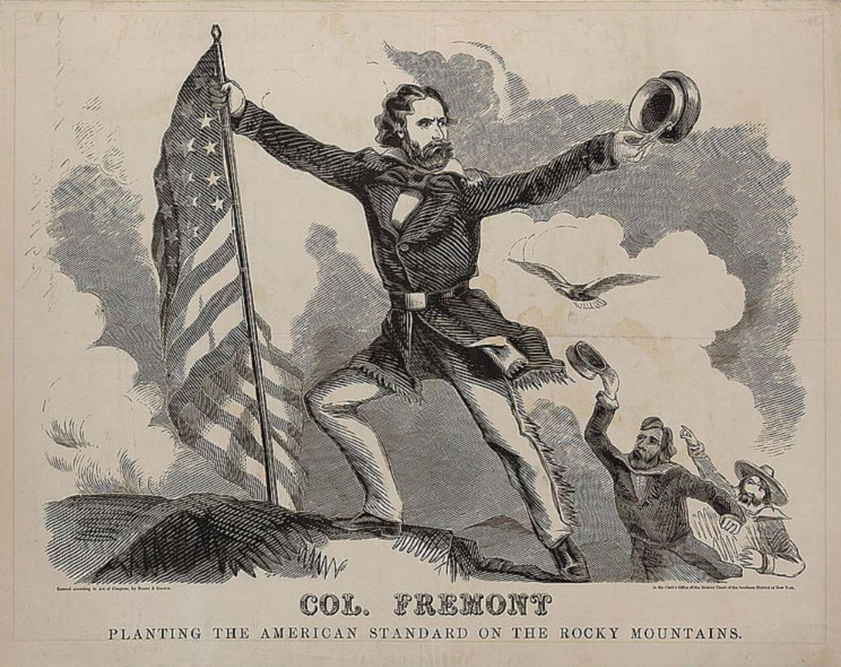 1856 Fremont campaign poster
