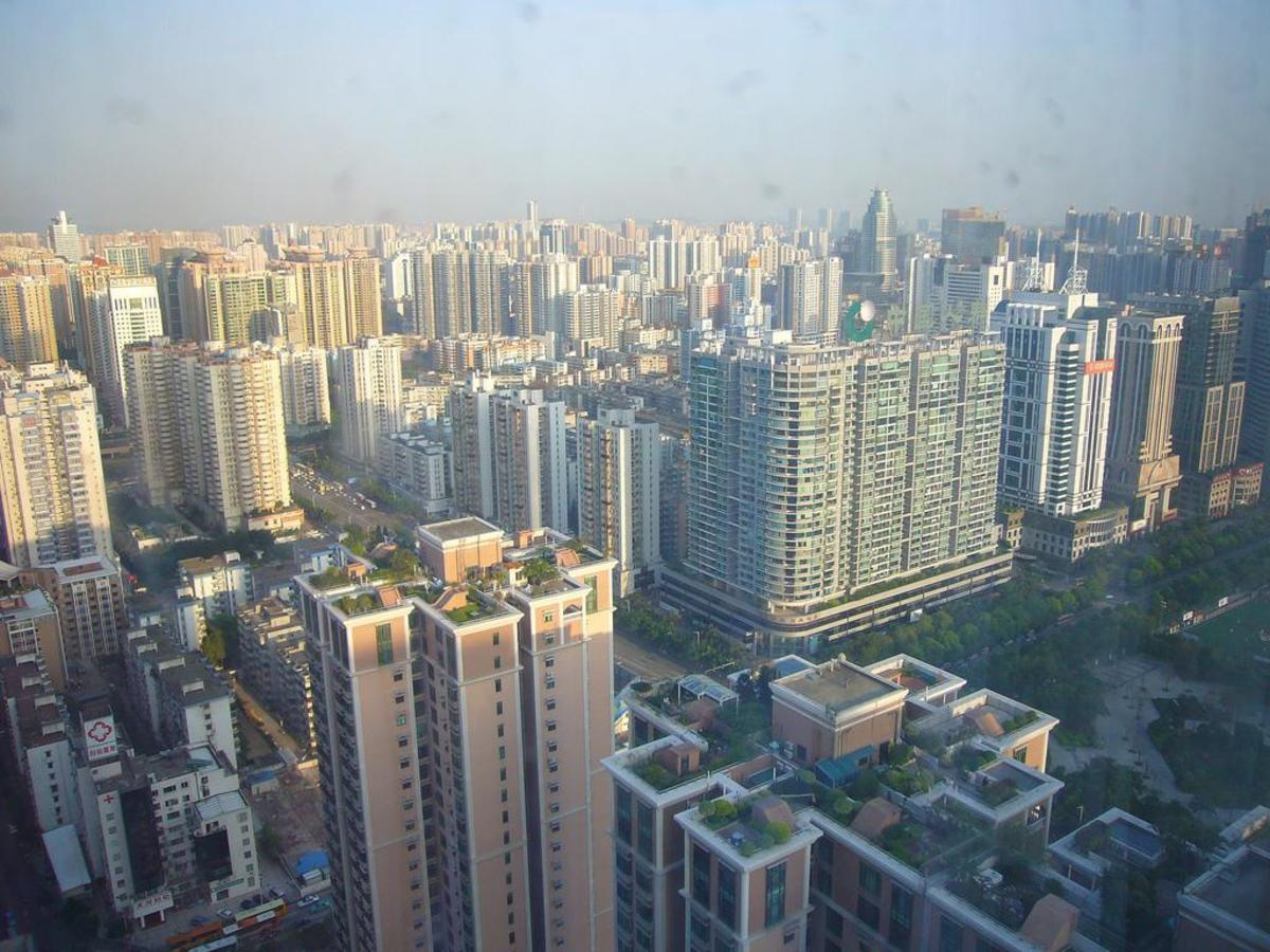 Guangzhou, one of China's teeming cities.