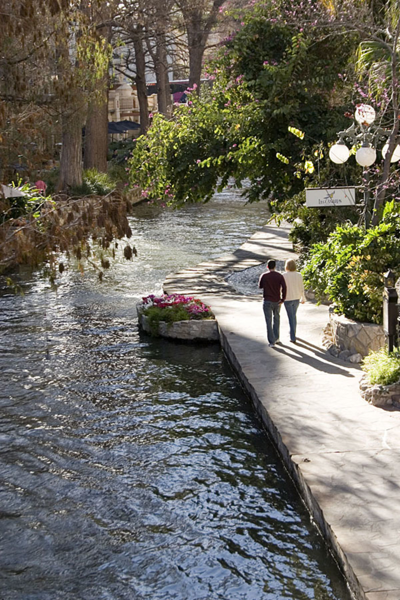 The River Walk in San Antonio TX is a good example of a restoration project that has become a major tourist attraction (and tax boon) to the city of San Antonio and its citizens. A private company approved by the city offers boat tours to tourists.