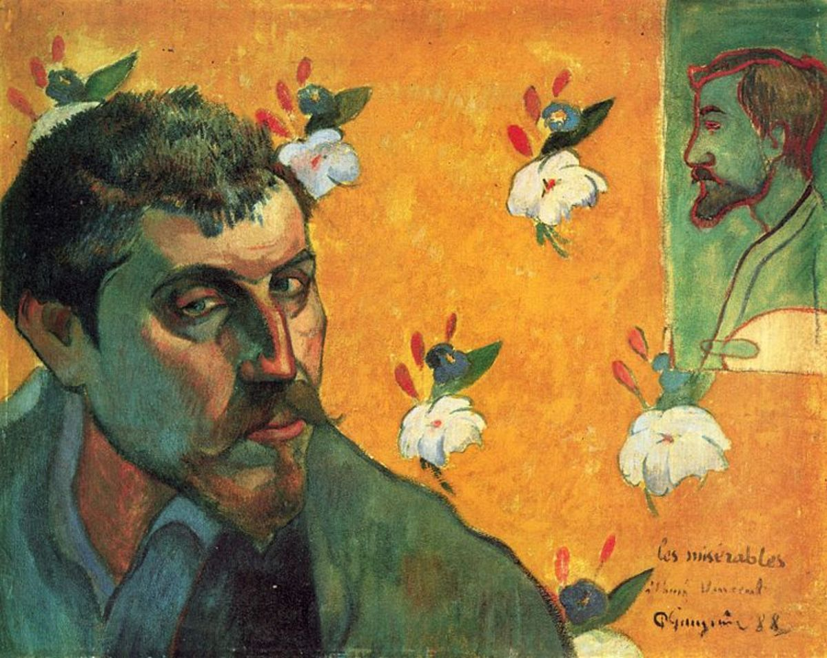 Self-portait (1888)  Van Gogh Museum, Amsterdam, The Netherlands