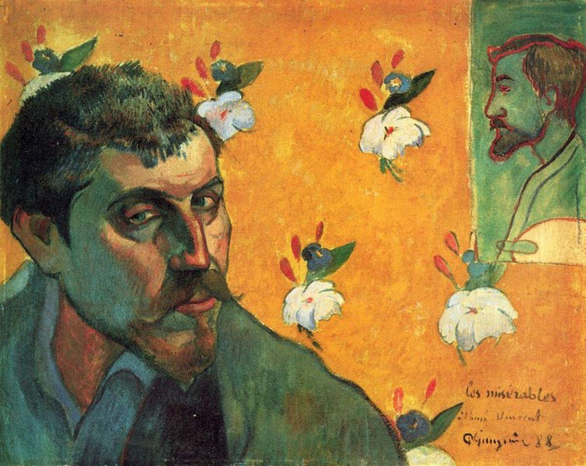 Self-portait (1888)  Van Gogh Museum, Amsterdam, The Netherlands