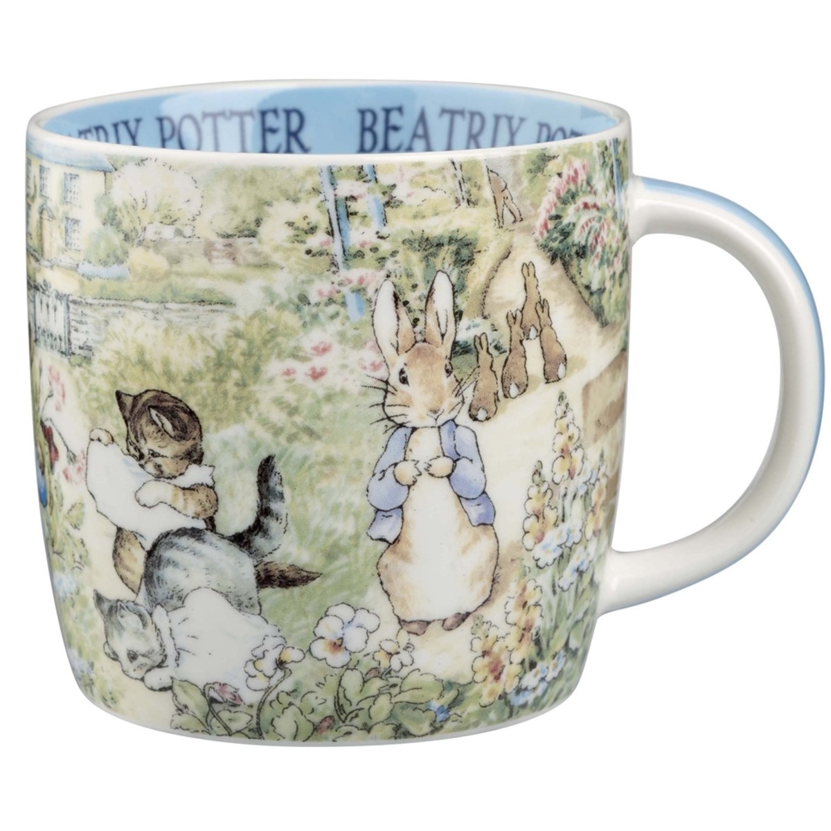 Peter Rabbit mug very similar to the one I drank from as a child.