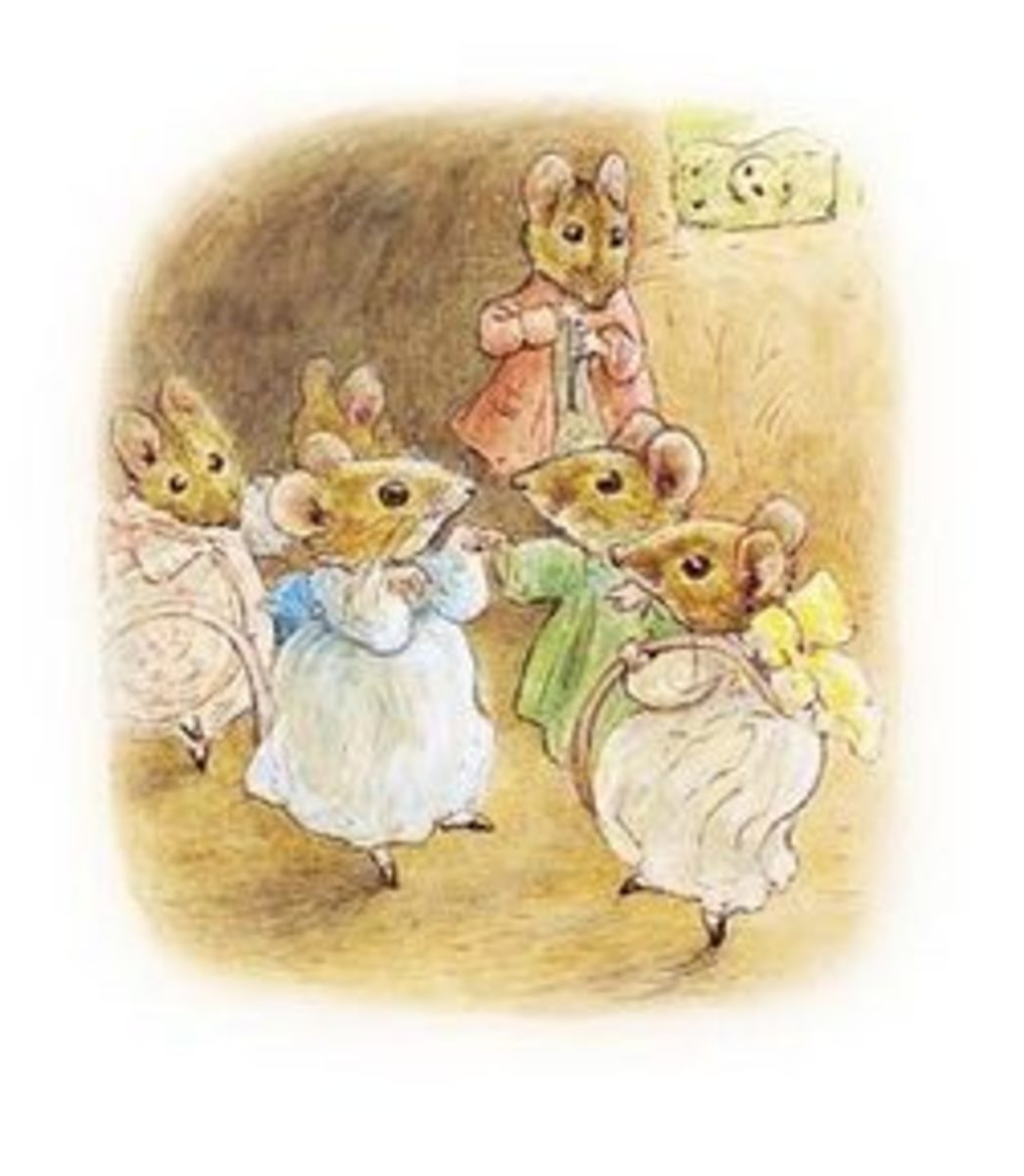 "From ""The Tale of Mrs. Tittlemouse"" (1910) by Beatrix Potter"