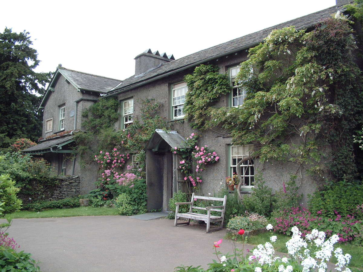 Hill Top Farm owned by and where Beatrix Potter wrote and illustrated her stories.