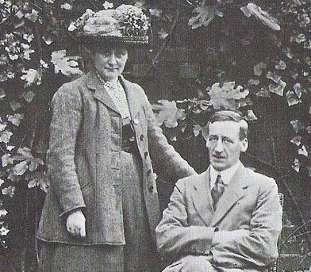 Beatrix Potter and her husband William Heelis.