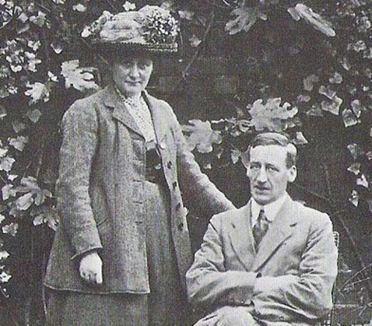 Beatrix Potter and her husband William Heelis.