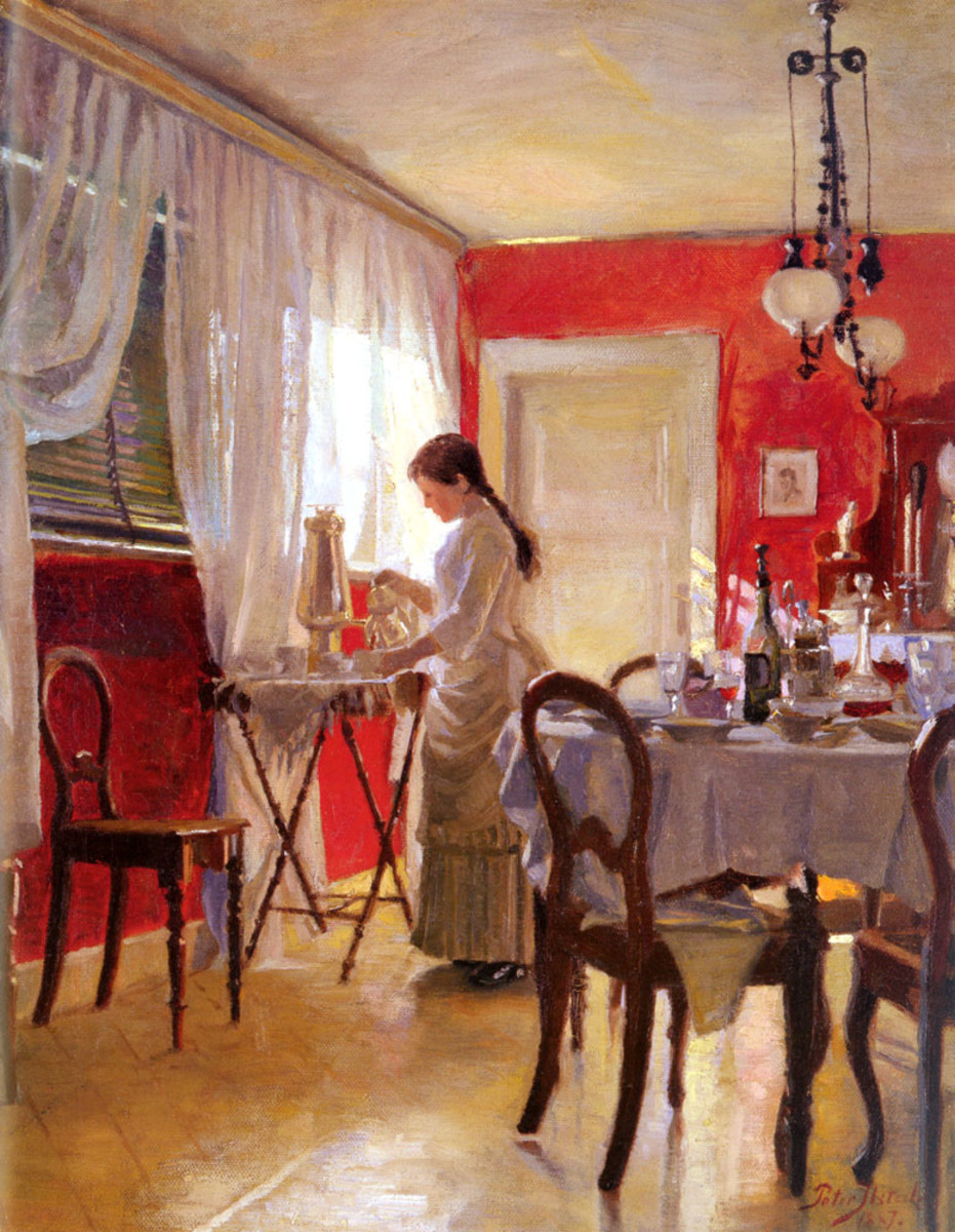 The Cult of Domesticity was an art form, especially in dining and entertaining.