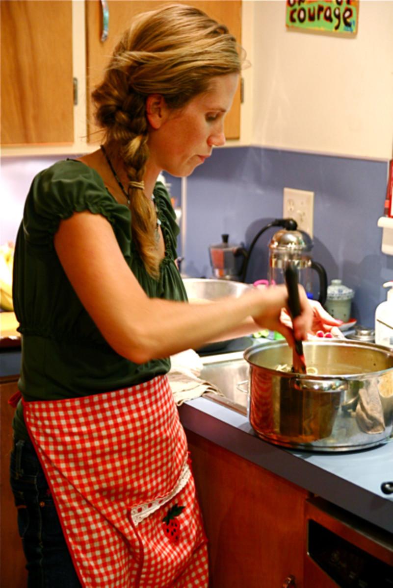A modern housewife