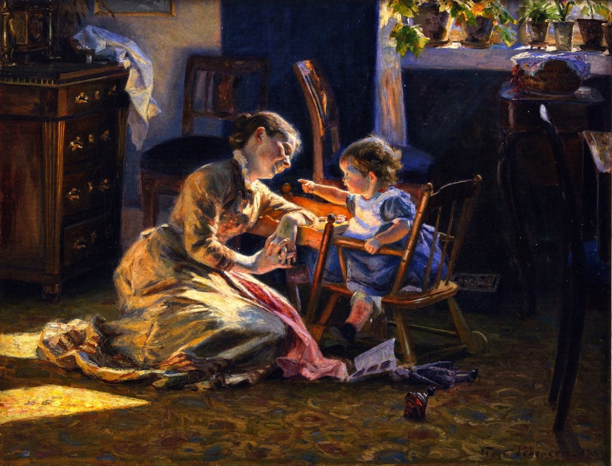 Motherhood reflected a sacred value system during the Cult of Domesticity.