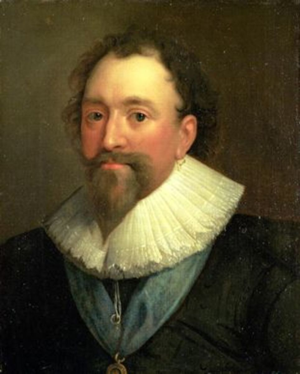 William Herbert aged 45, painted by Daniel Mytens.