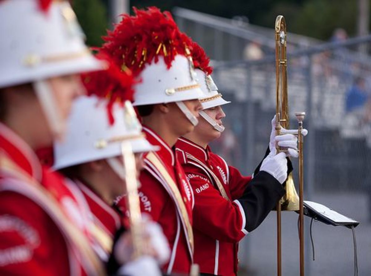 Joining extracurriculars such as marching band shows colleges what you are passionate about