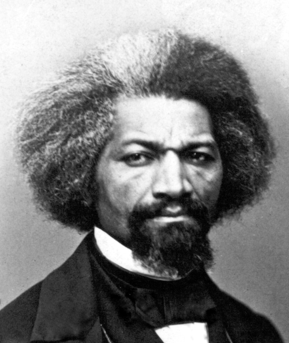 A photo of Frederick Douglass