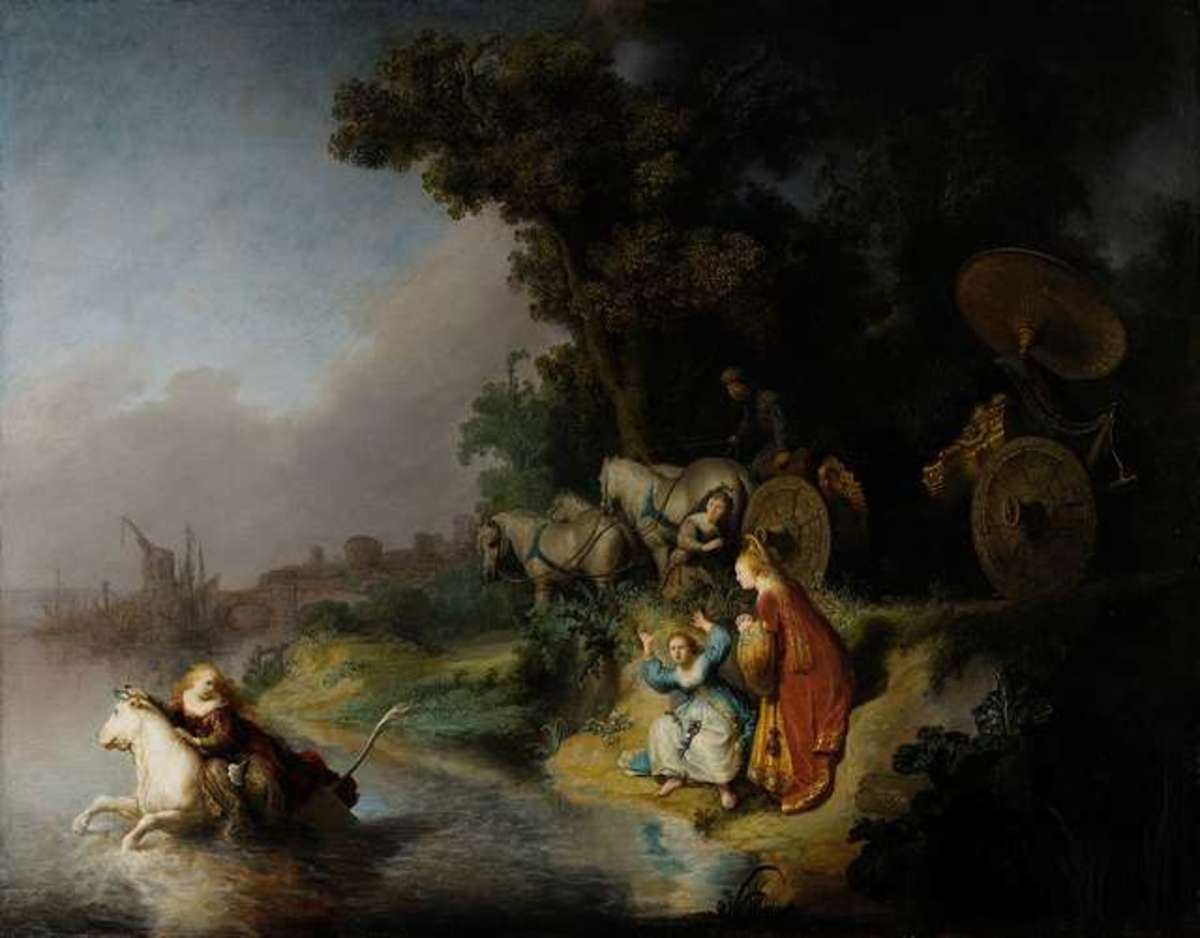 Abduction of Europa by Rembrandt Harmenszoon van Rijn
