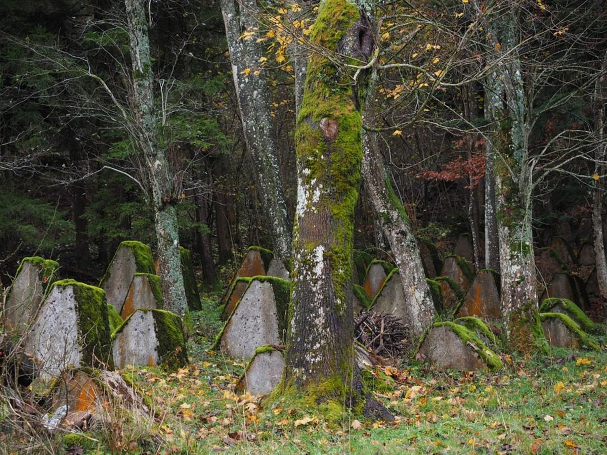 Old graves long forgotten