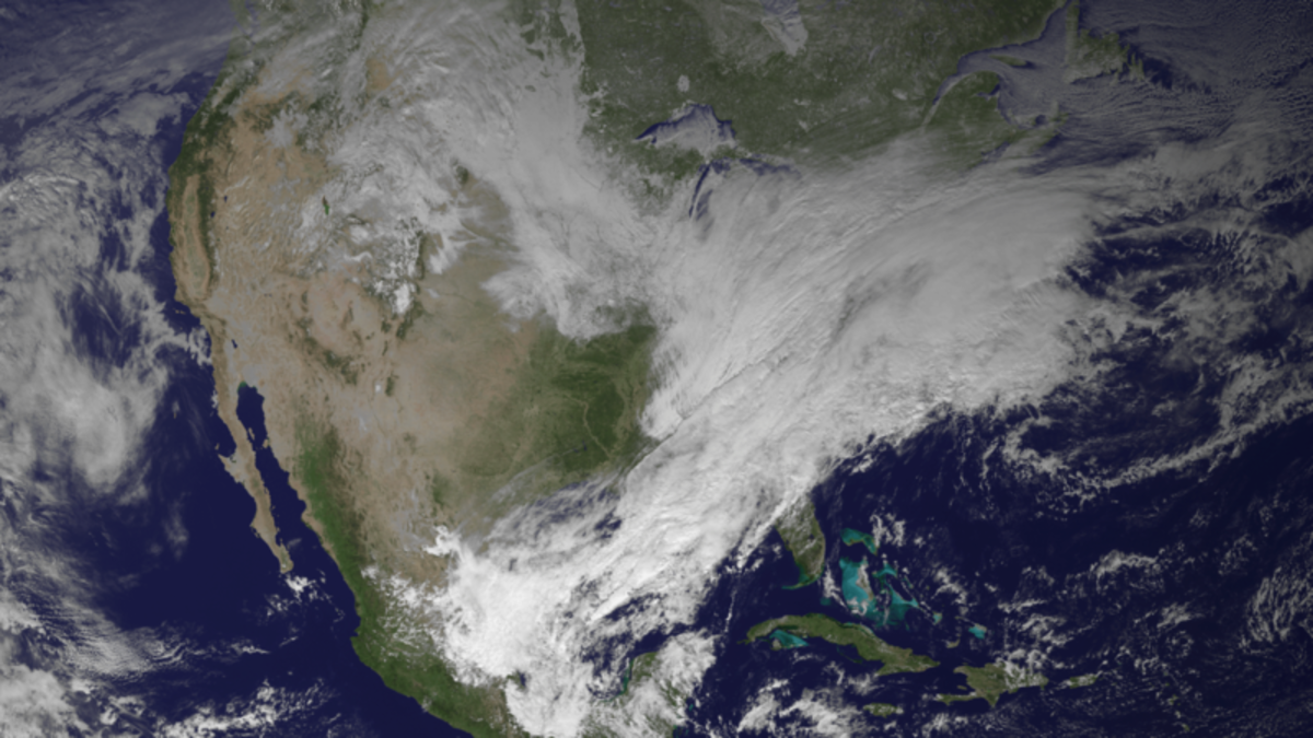 Historic POLAR VORTEX of 2014 over the United States