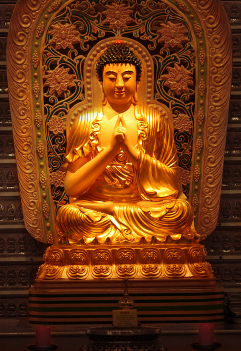 Fo Guang Shan Buddhist Temple, London
