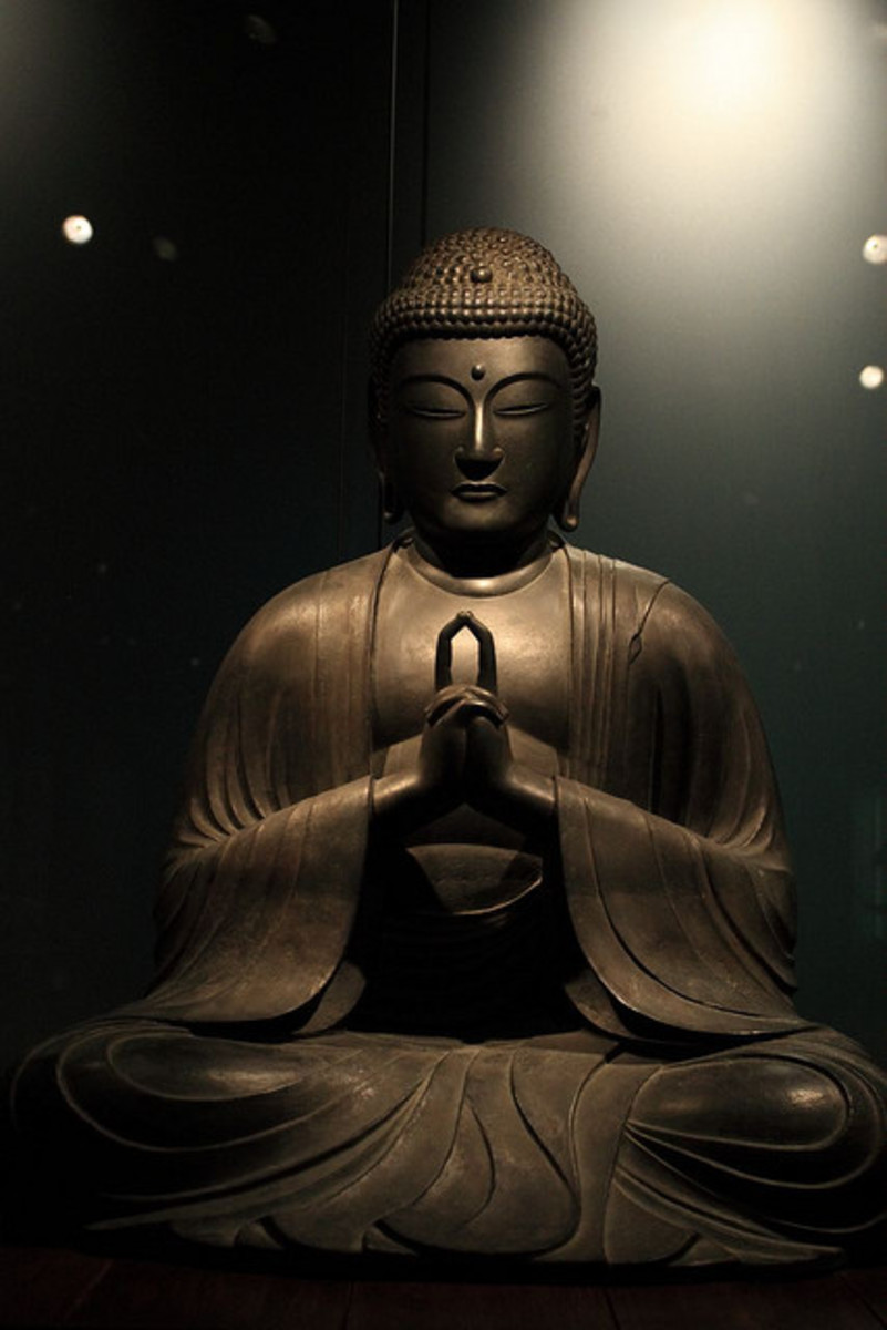Famous Statues Of Buddha Depicting 10 Mudras Or Hand Gestures
