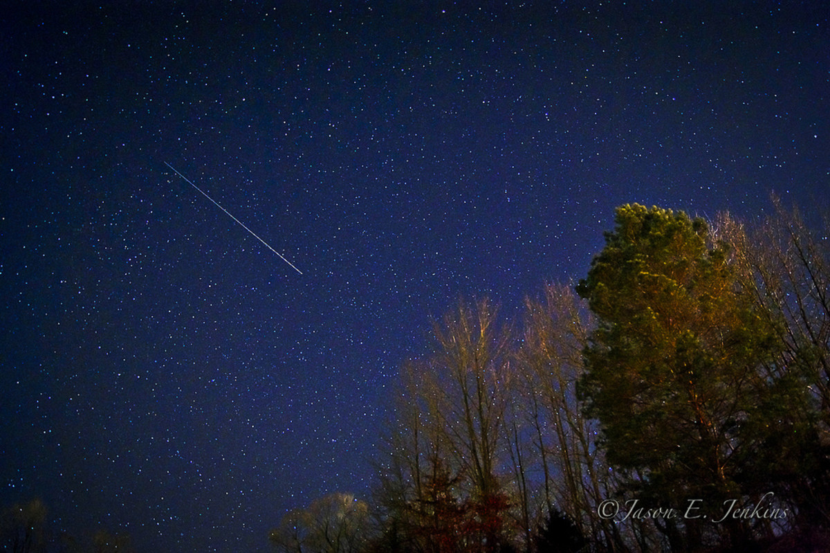 Shooting stars are meteoroids burning up as they pass through the earth's atmosphere.
