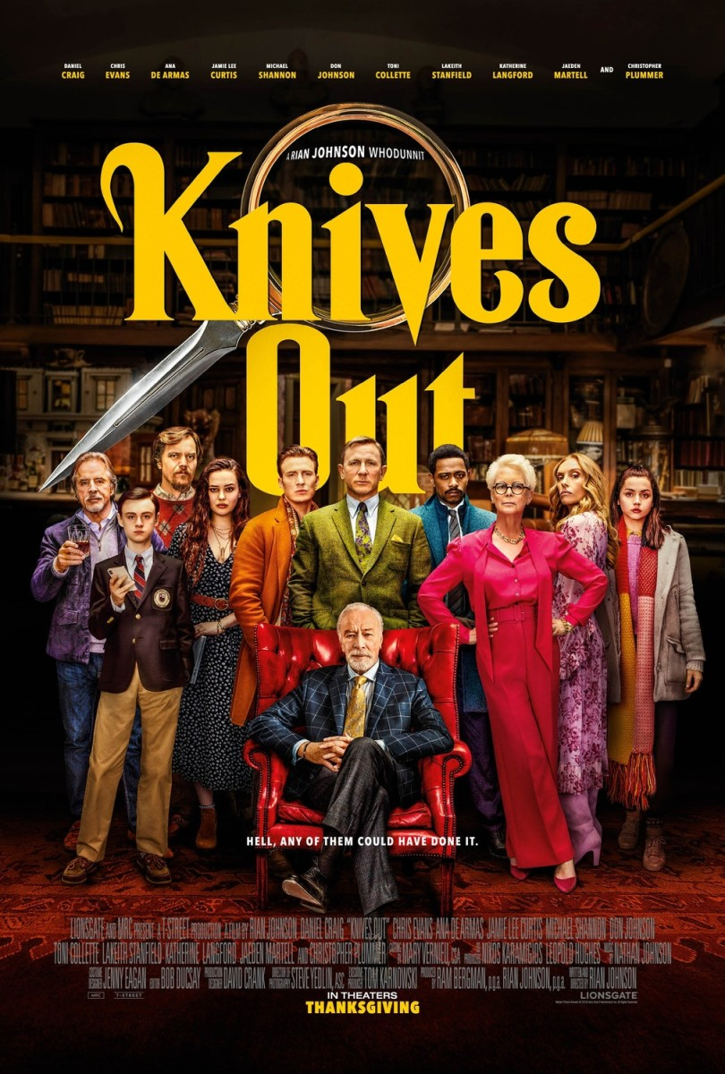 "Movie Review: ""Knives Out"""