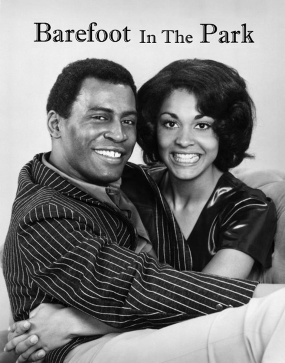 Scoey Mitchell and Tracy Reed in Barefoot in the Park - 70s Black TV Sitcom