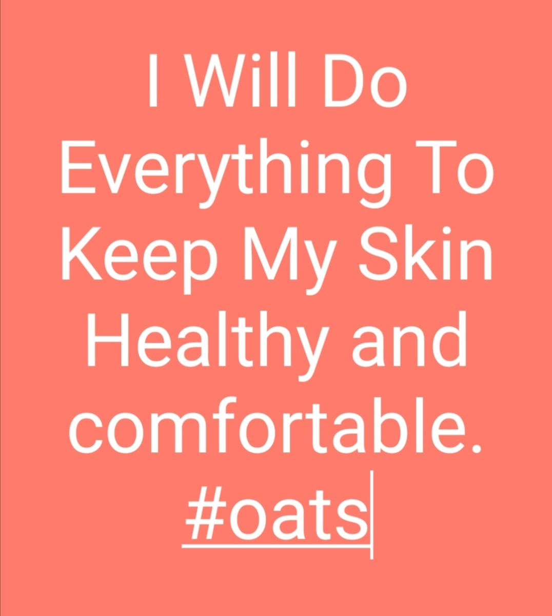 Oats are worth trying!