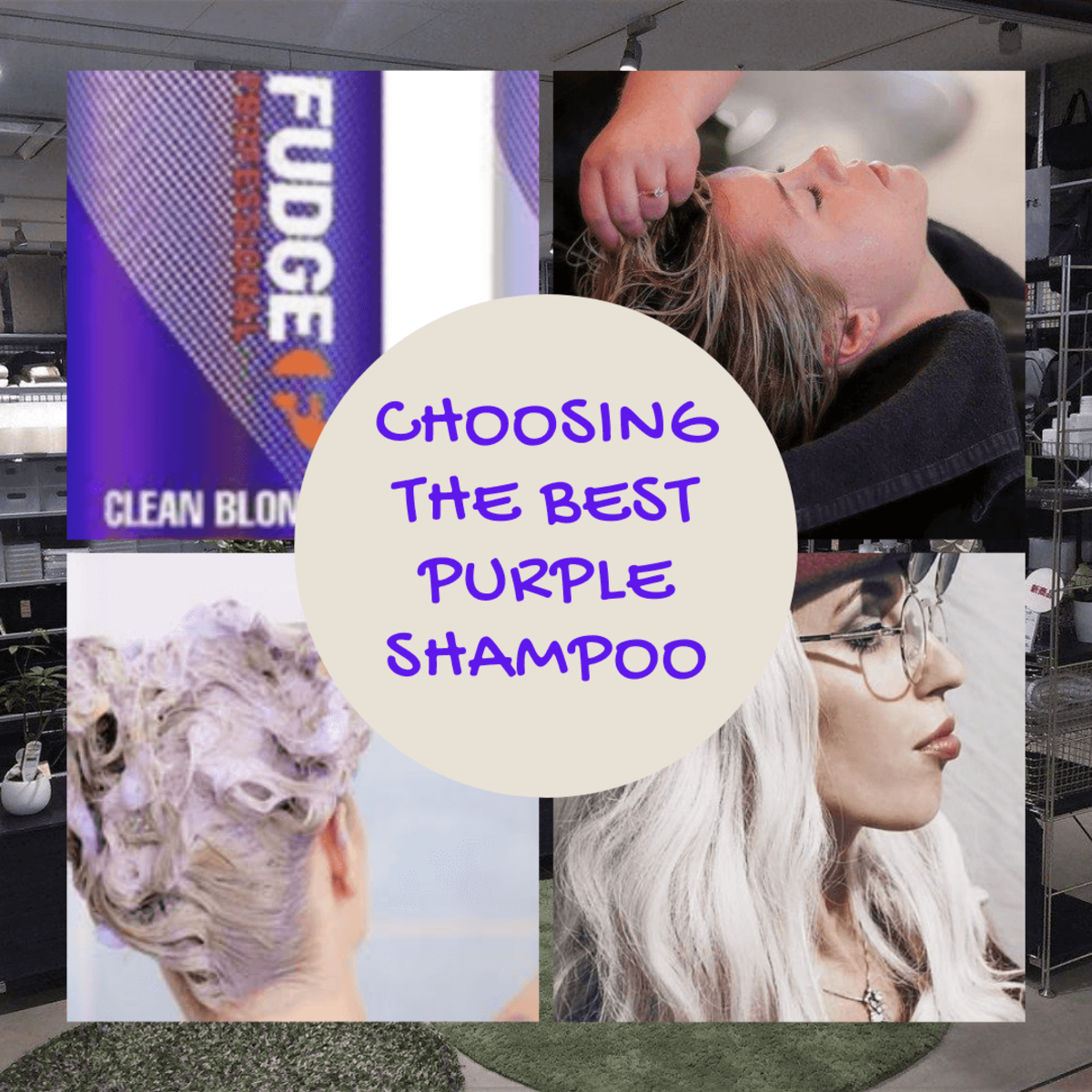 Choosing a Purple Shampoo