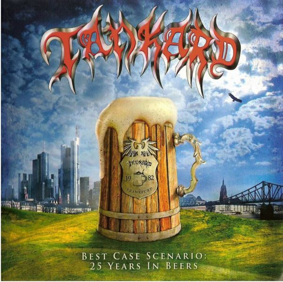 """Best Case Scenario: 25 Years in Beers"" CD cover"