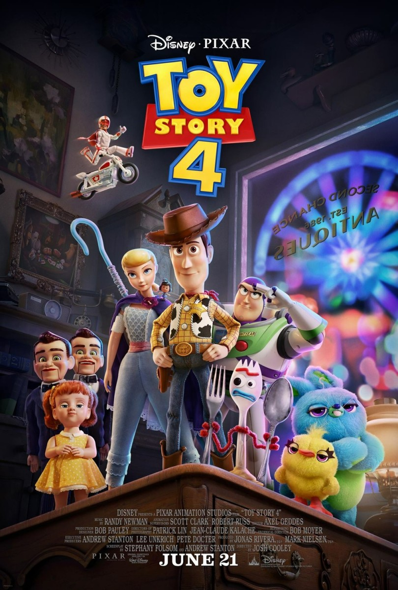 "Movie Review: ""Toy Story 4"""