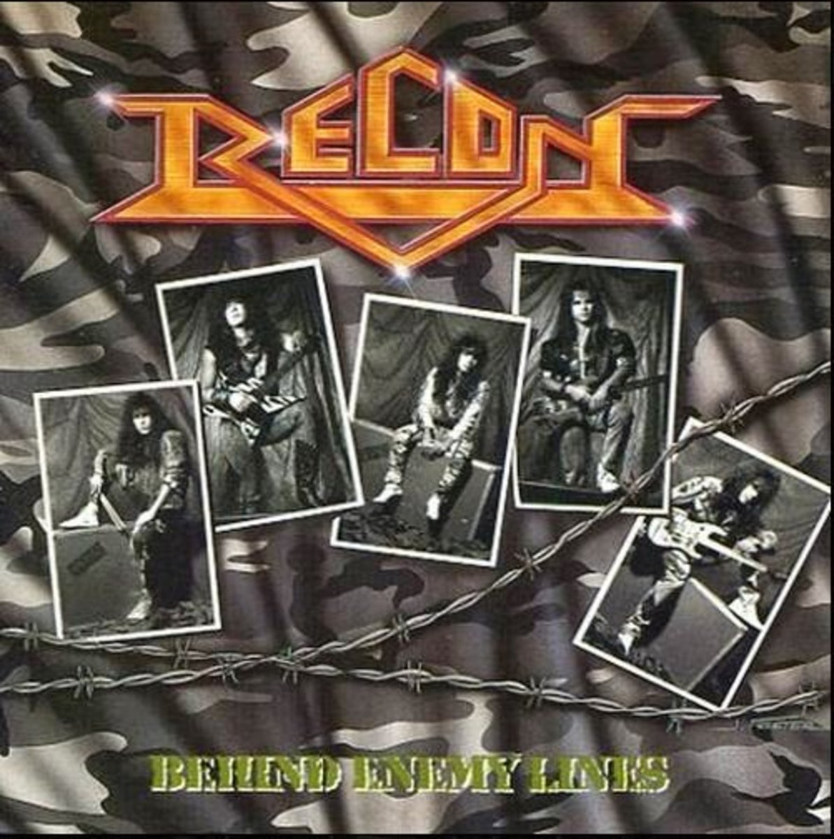 "Recon ""Behind Enemy Lines"" CD cover (2001 Magdalene Records version)"