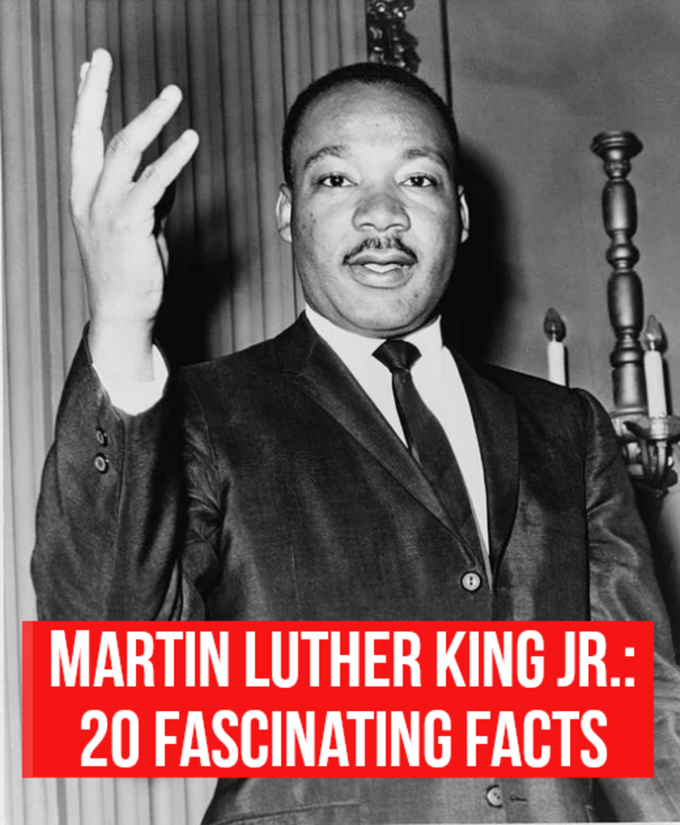 "Read on for 20 essential facts about Reverend Dr. Martin Luther King Jr., an advocate of non-violent activism. He was also an exceptional orator, and  he made many memorable speeches, including his ""I Have a Dream"" speech."
