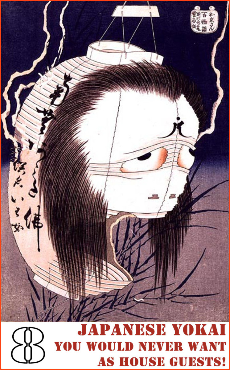 Japanese Yokai and monsters you'd loathe to have as house guests!