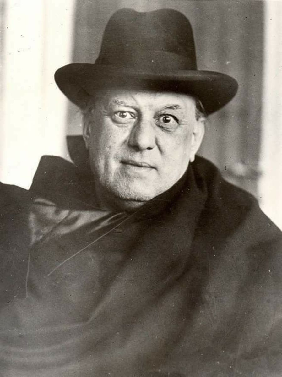 Aleister Crowley in 1929.