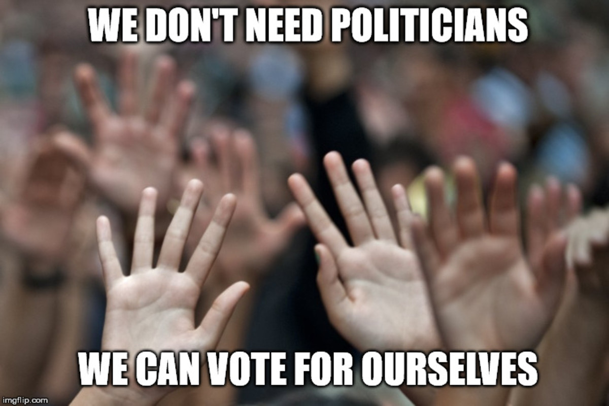 Why We Don't Need Politicians