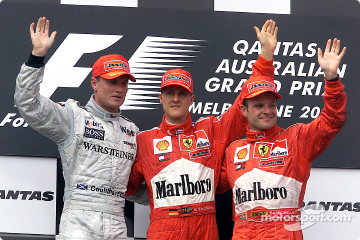 The 2001 Australian GP: Michael Schumacher's 45th Career Win