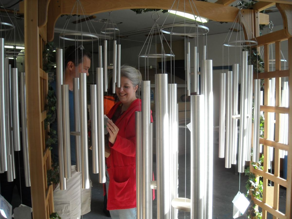 Melodic Tuned Wind Chimes by Grace Note