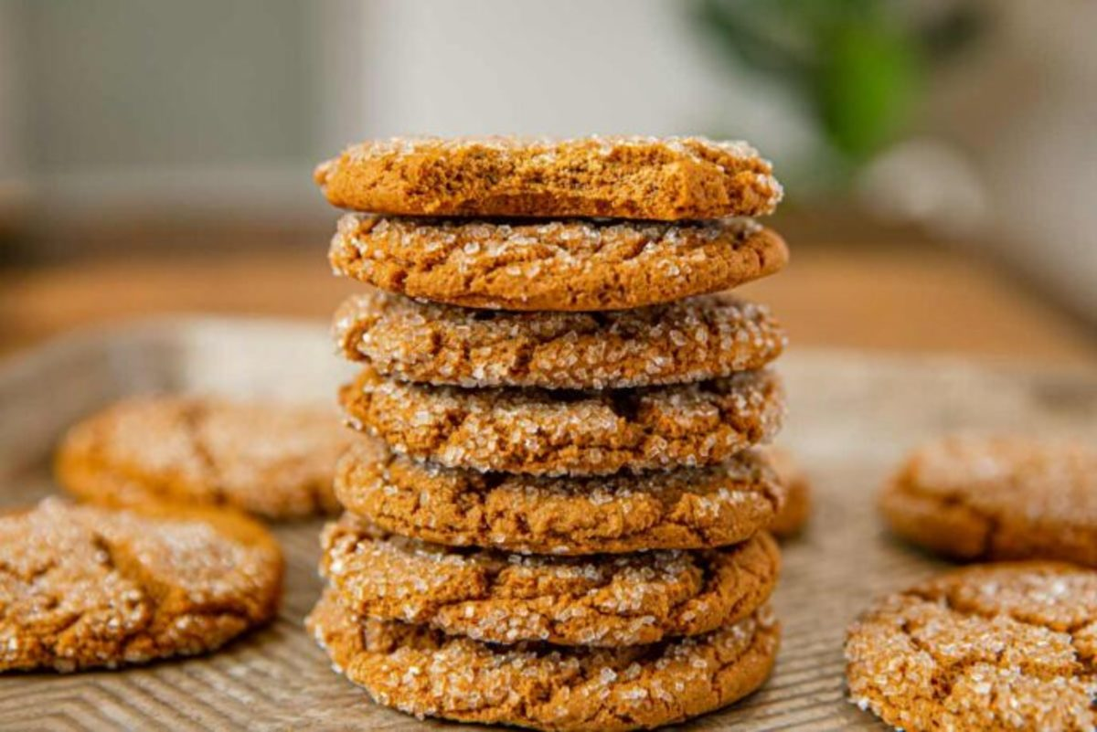 In 1945, molasses cookies were all the rage.