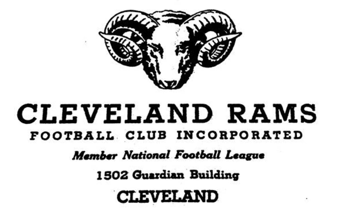 In 1945, the Cleveland Rams were the NFL champions.