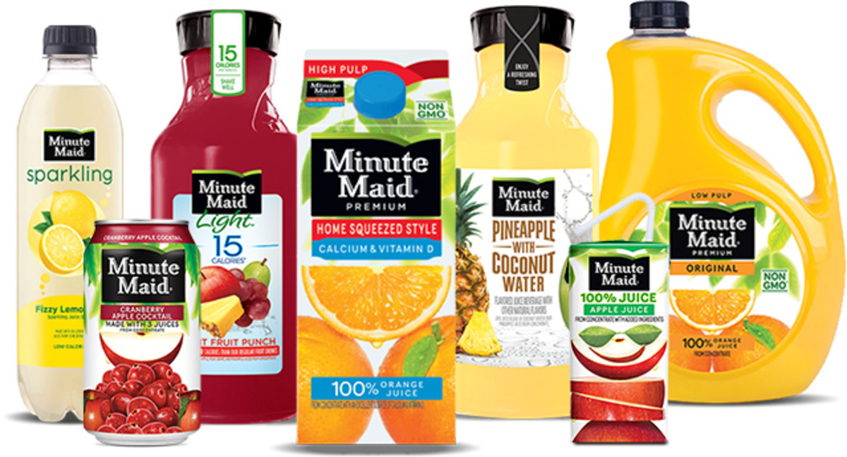 In 1945, Minute Maid—a product line of beverages that is generally associated with lemonade and orange juice—was founded.