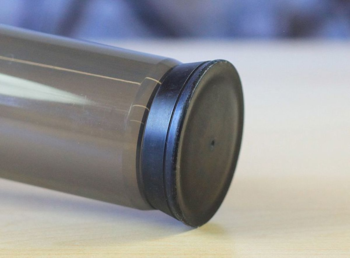 This is the AeroPress plunger seal. Take good care of this part in order to prolong its life.