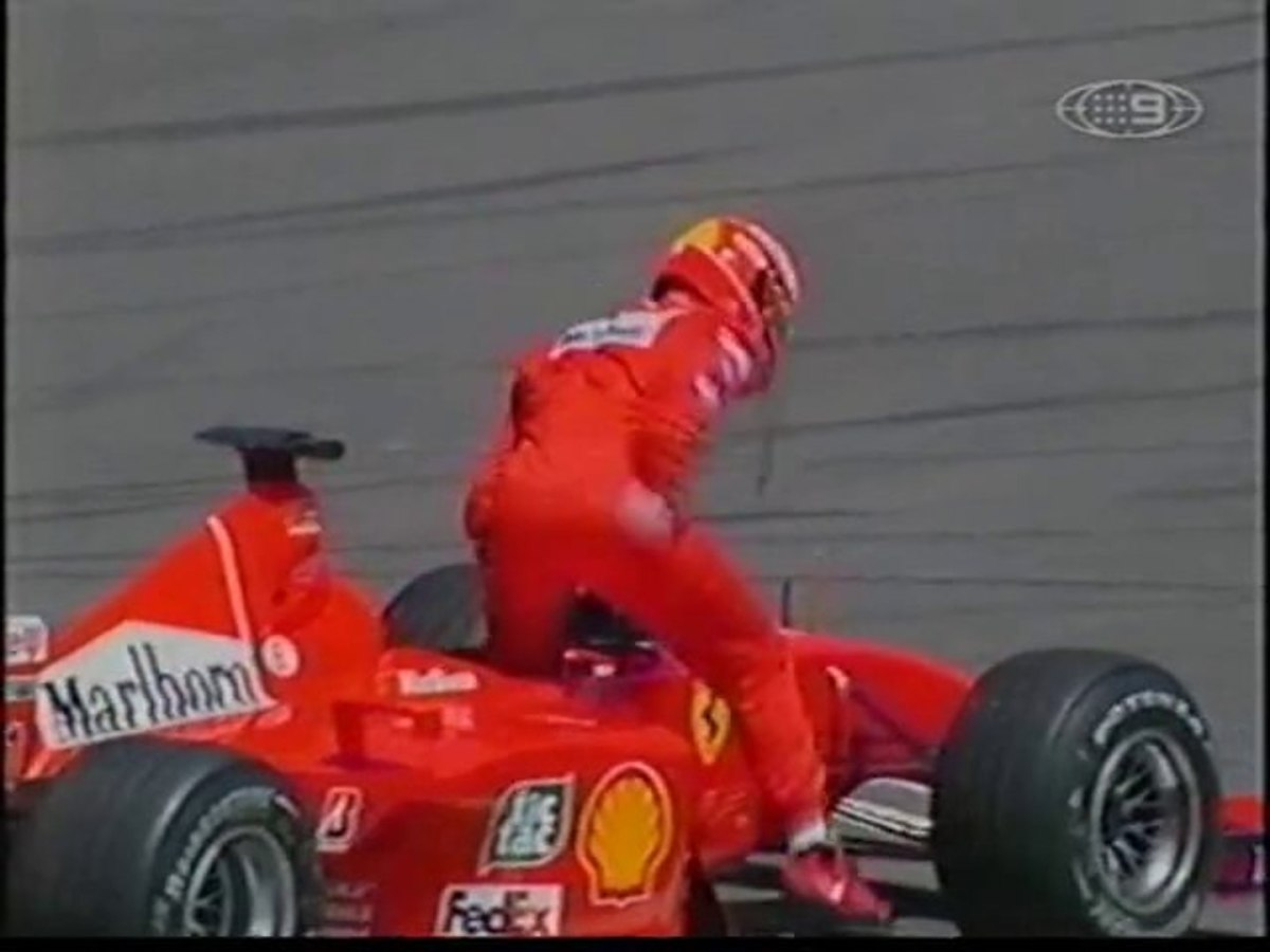 The 2001 European GP: Michael Schumacher's 49th Career Win