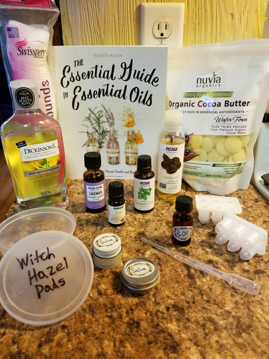 Gather everything you will need to make your hemorrhoid remedies.
