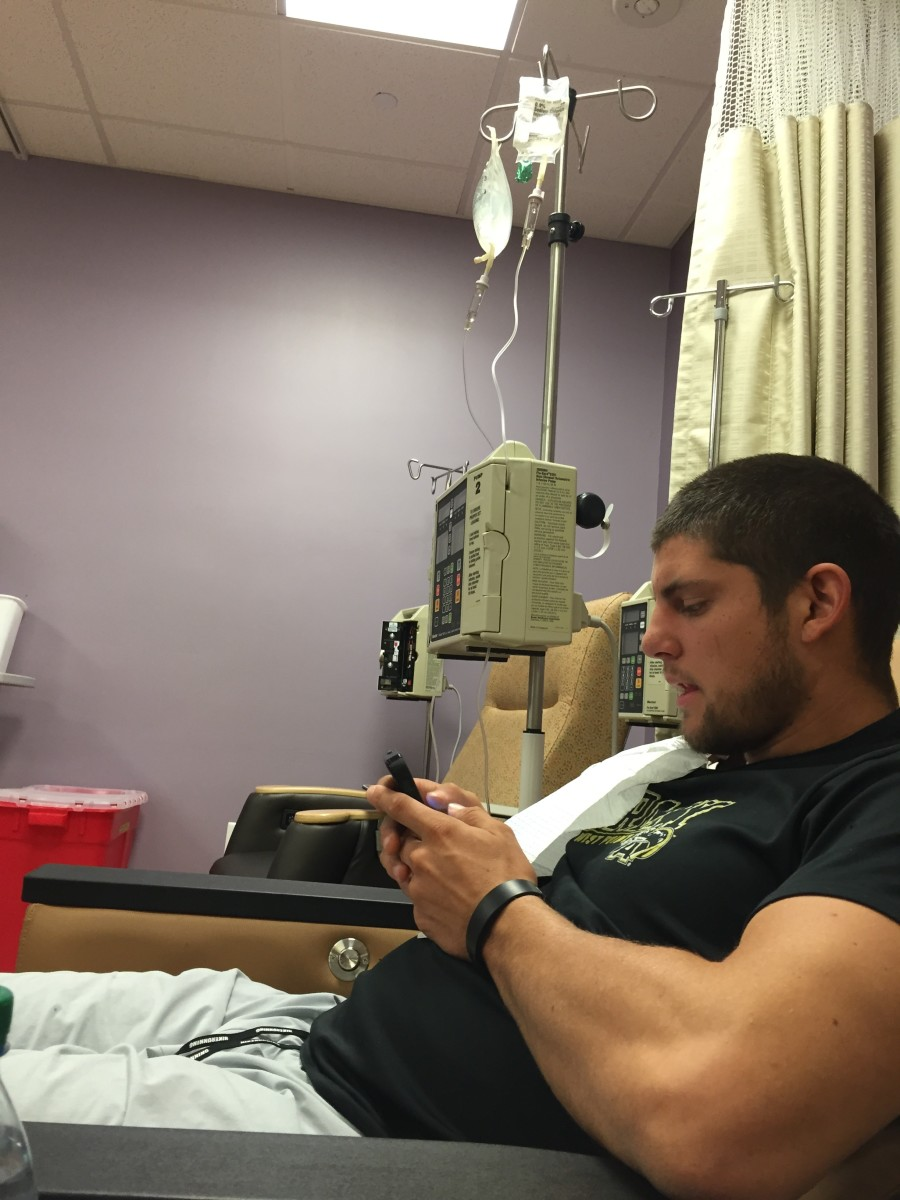 First cycle of chemo