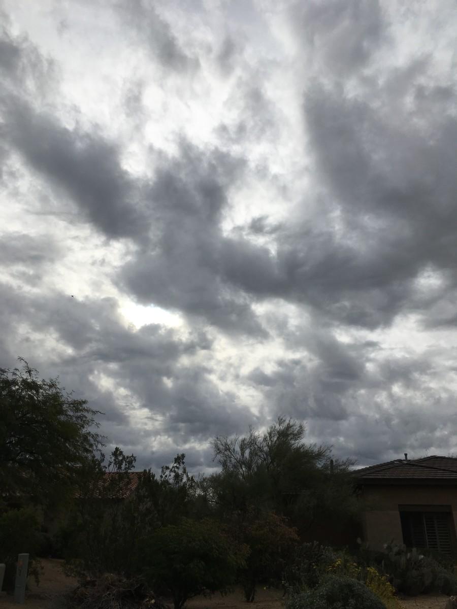 A Cold Arizona Winter