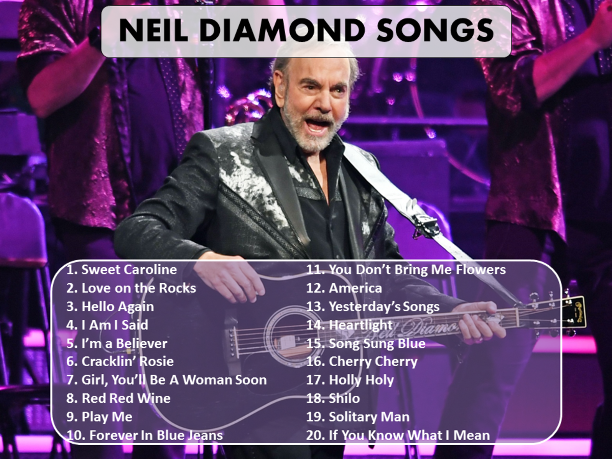 Best Neil Diamond Songs of All Time