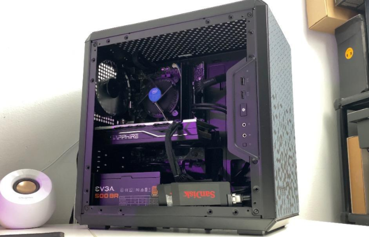 In 2020 I like the Cooler Master Masterbox Q300L as my choice for micro ATX case under $50.