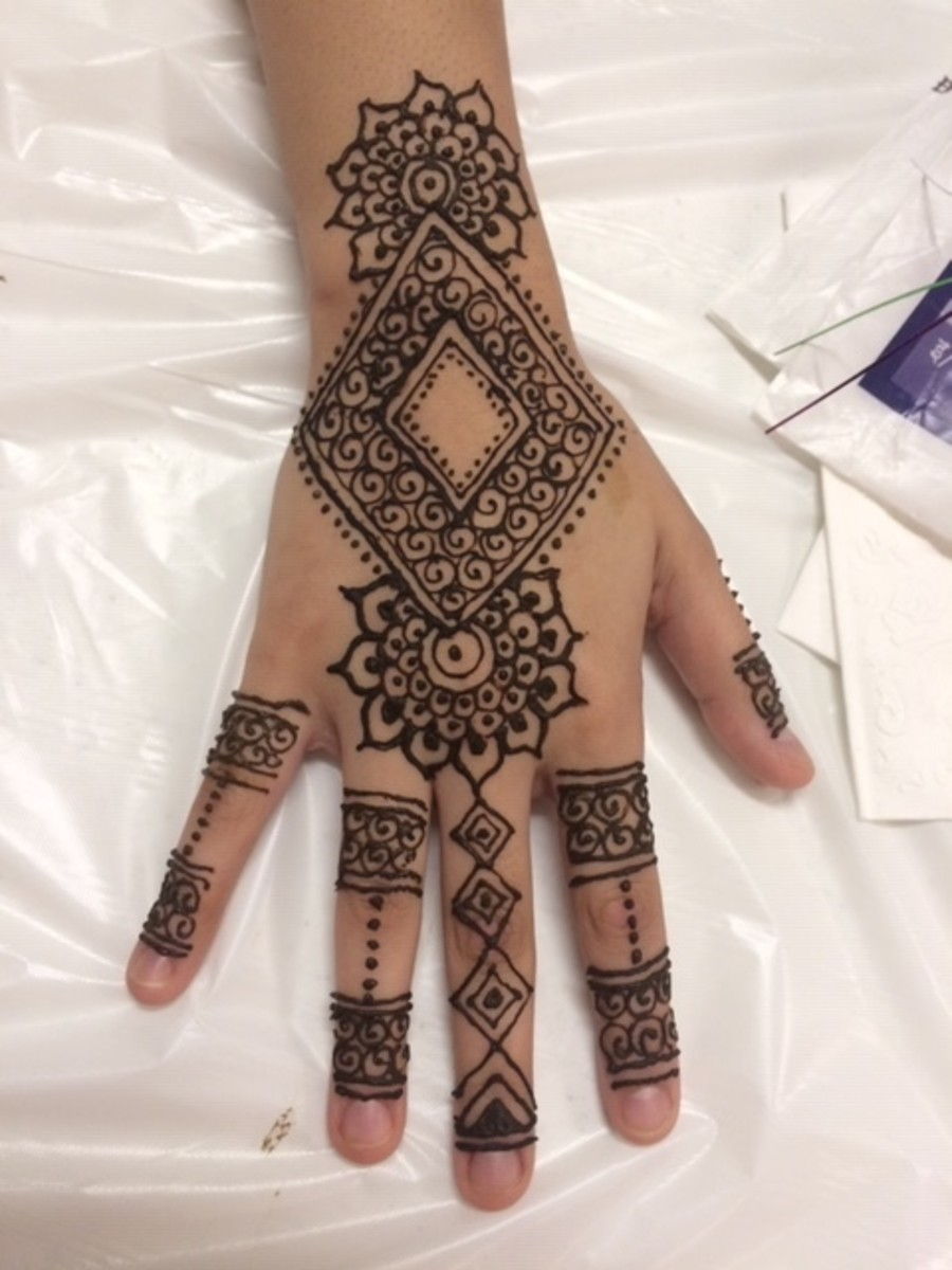 How to Make a Henna Cone and Henna Paste
